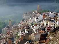 View of Alcalá de Júcar, Albacete