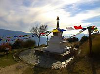 A piece of Tibet in Andalucía