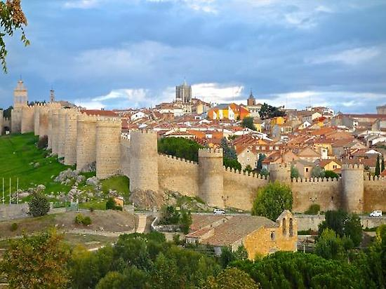 The city of Ávila