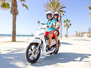 Scooter rental in Valencia