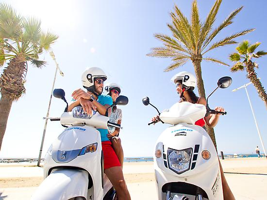 Scooter rental in Formentera