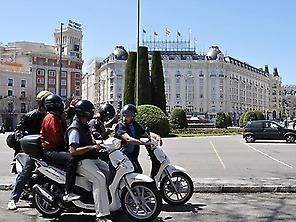 Madrid Scooter City Tour