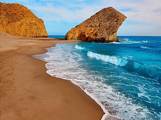 Beach of Mónsul  Cabo de Gata-Níjar