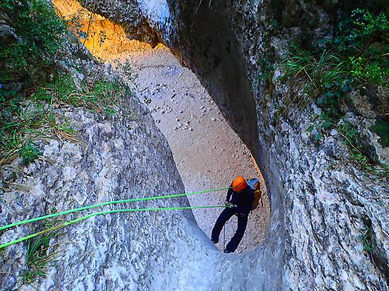 Dry Canyon in Ordesa, Spanish Pyrenees