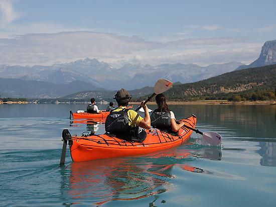 Kayak in Spain Pyrenees