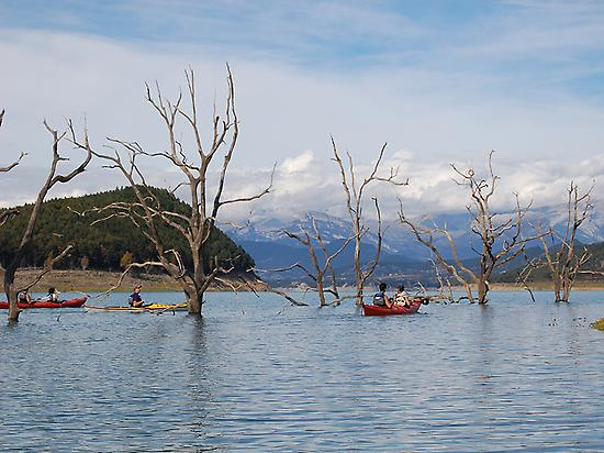 Kayak in the Spanish Pyrenees
