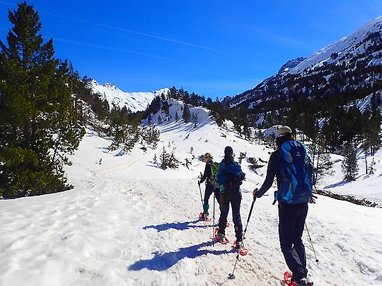 Snowshoeing in the Spanish Pyrenees