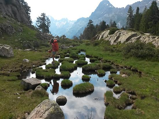 Hiking of different levels Pyrenees