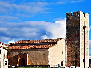 San Martín's church. Cuéllar, Segovia.
