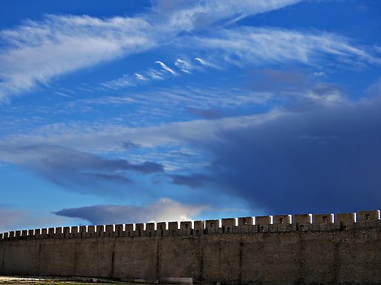 Murallas de Cuéllar, Segovia.