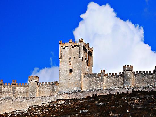 Castillo de Peñafiel. Valladolid.