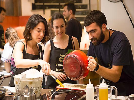Paella and tapas class