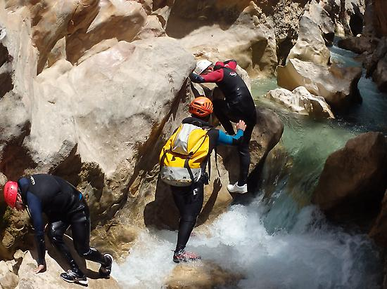 Canyoning in Sierra de Guara
