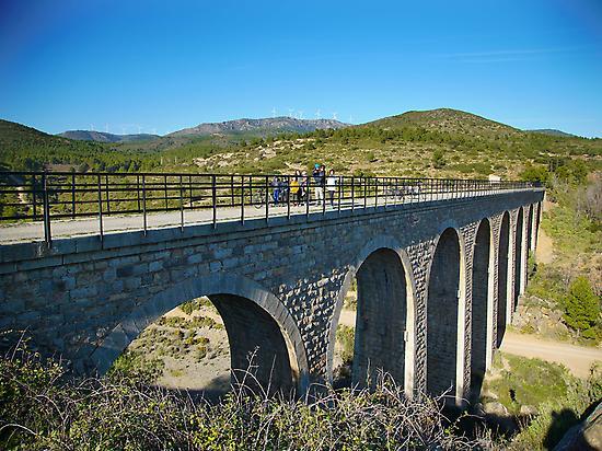 Fuensanta bridge, Caudiel.