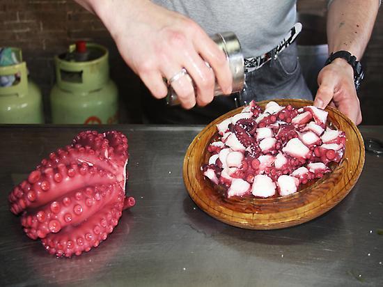 Tipical, Galicia, Octopus, meal
