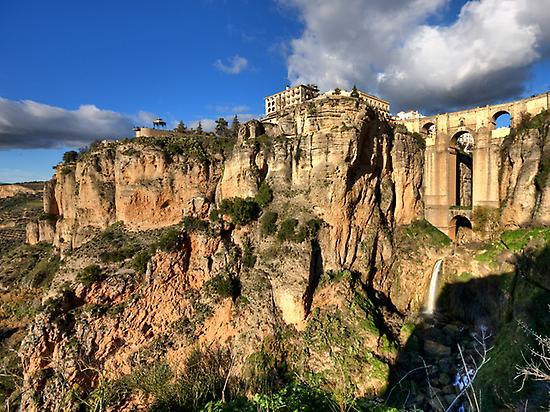 Ronda, Puente Nuevo, village, UNESCO
