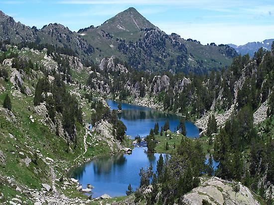 Colomers lakes