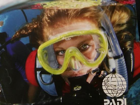 Scuba diver or Open water diver PADI