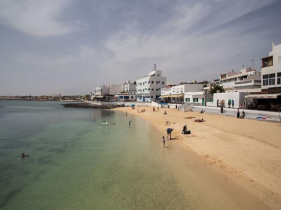 Beach in Corralejo