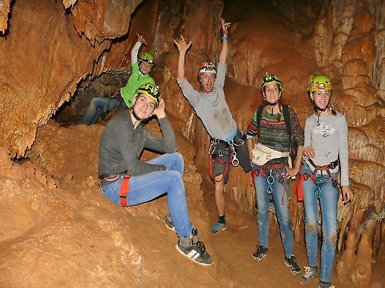 Family caving