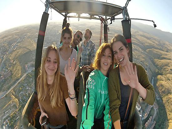 Floating Over Segovia