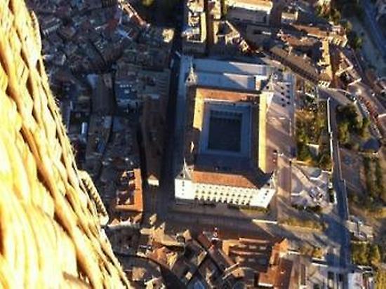 Over the Alcázar