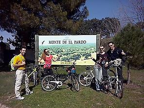 El Pardo Forest, at only 7km from Madrid