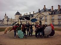 Group at El Pardo Royal Palace