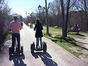 Segway tour in El Pardo