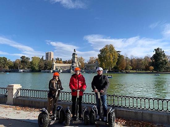 Segcitytours_Lago Parque de El Retiro