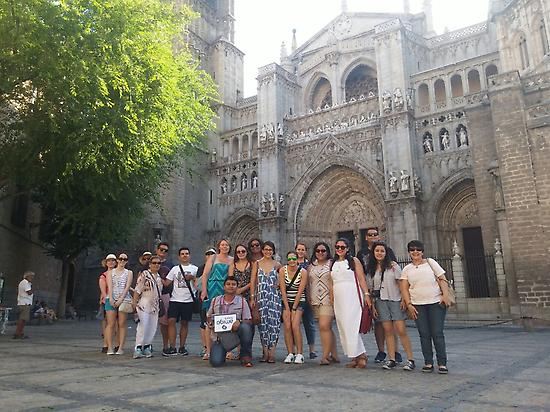 The group in the Toledo
