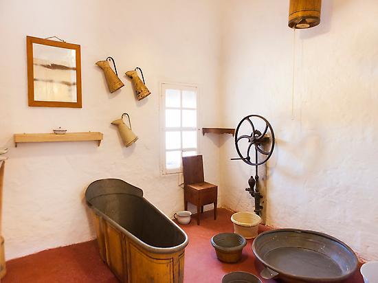 Bathroom of the Manor house