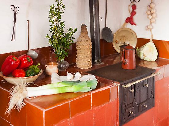 Kitchen of the peasant