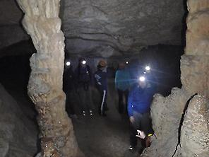 Speleology fun and discoveries