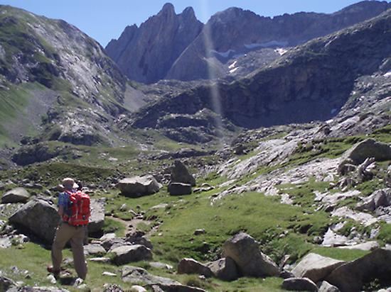Going up to the Coll de Toro