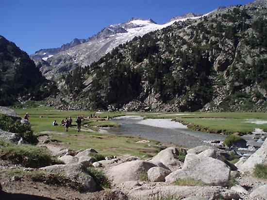 Aigualluts Plan (Aneto peak background)