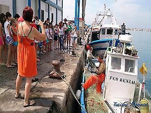 Visita al muelle pesquero de Estepona