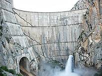 Canelles Dam