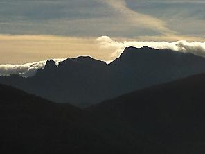 Mountains at Garrotxa