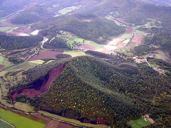 Croscat volcano