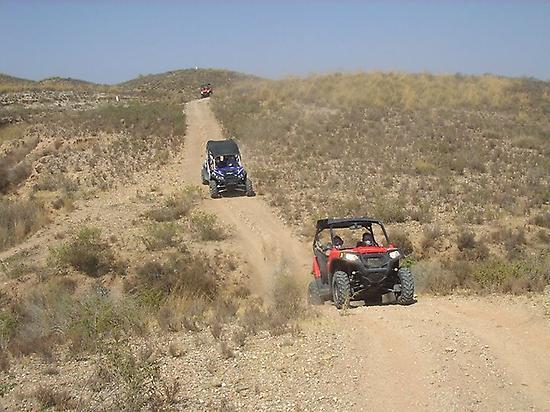 Buggy route Sierra de Cabrera