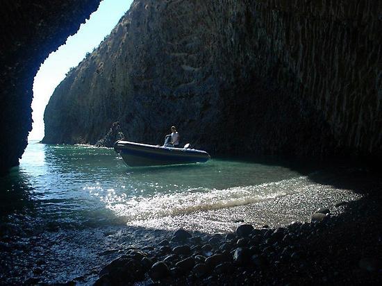 Boat Ride in Cabo de Gata.