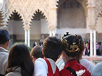 Alcazar for families (private tour)