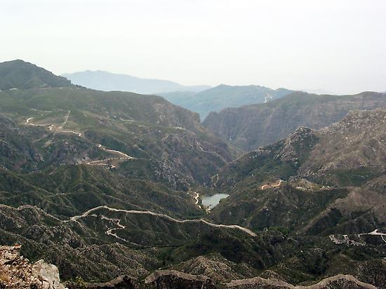 Trekking thru the Natural Park of Almija