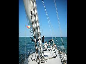!Saillling along Cabo de Gata!