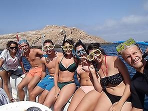 !Snorkeling with Friends!