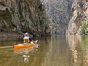 KAYAK IN THE NATURAL PARK