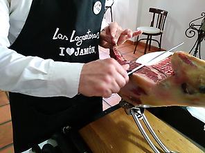 Dégustation gastronomique jambon Iberico