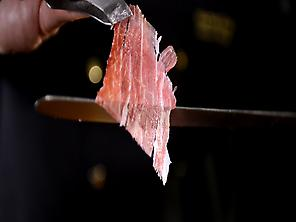 A piece of jamon