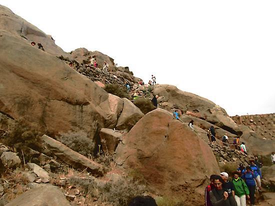 Tour hike in Fuerteventura